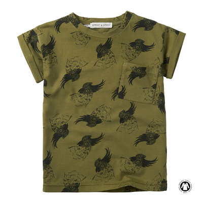 Sproet & Sprout Sproet & Sprout; T-Shirt print Cockatoo