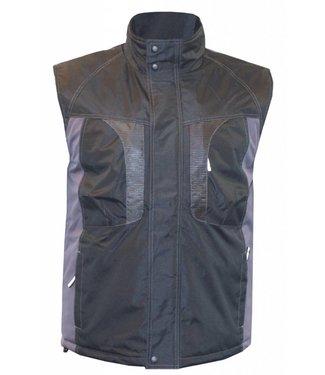 M-Wear M-Wear bodywarmer 0320, zwart/grijs