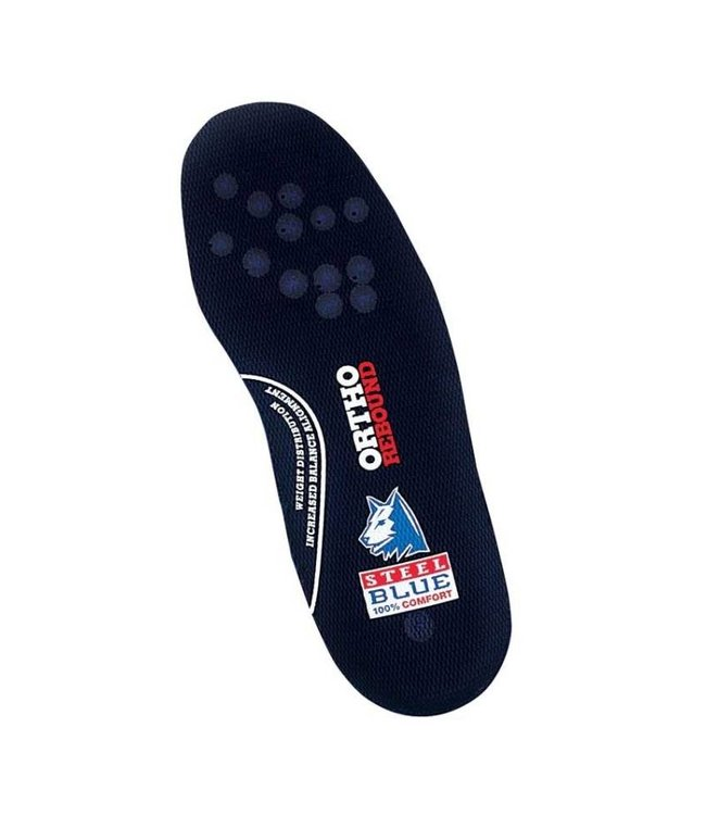 Steel Blue Steel Blue Ortho Rebound footbed