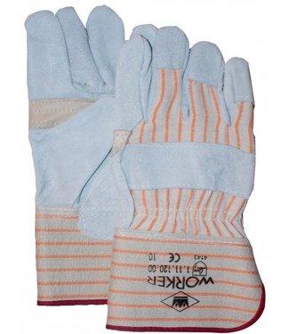 M-Safe Splitlederen Werkhandschoenen A-kwaliteit met nerfpalmpversterking