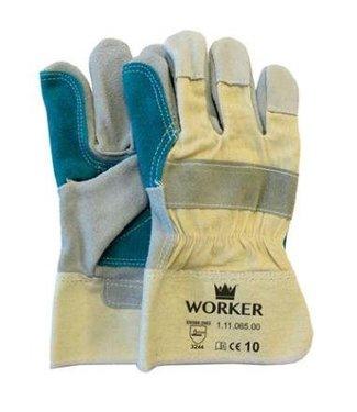 M-Safe Splitlederen werkhandschoenen met pistoolversterking
