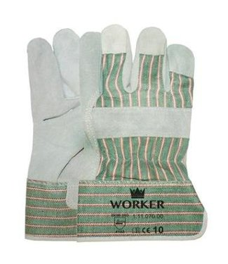 M-Safe Splitlederen werkhandschoenen A-kwaliteit