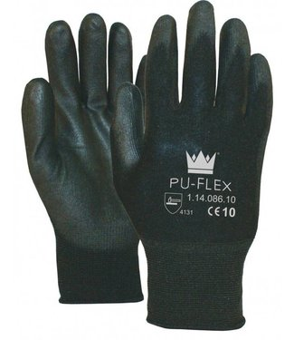 M-Safe M-Safe PU-Flex Werkhandschoenen zwart