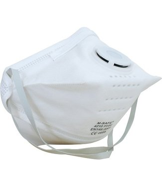 M-Safe M-Safe 4210 Stofmasker FFP2 met ademventiel