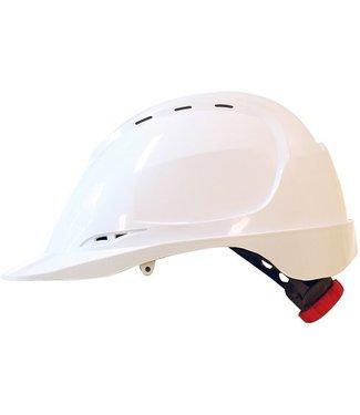 M-Safe M-Safe ABS veiligheidshelm MH6020 draaiknop wit