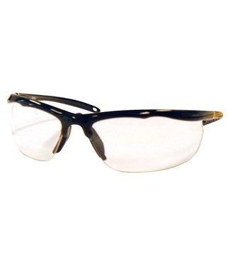 M-Safe M-Safe veiligheidsbril Nevado heldere lenzen, zwart montuur