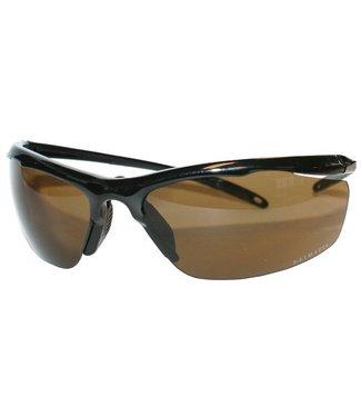 M-Safe M-Safe veiligheidsbril Nevado bruin lenzen, zwart montuur