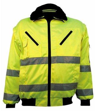 M-Wear M-Wear 0977 Pilotjack EN471 Geel 3-in-1
