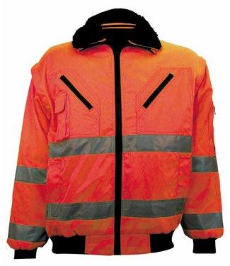 M-Wear M-Wear 0976 Pilotjack EN471 Oranje 3-in-1