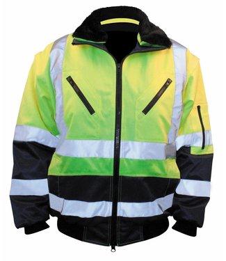 M-Wear M-Wear 0962 Pilotjack Geel/Marine, 3-in-1