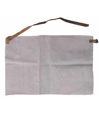 M-Wear Buikschort splitleder 60 x 40 cm