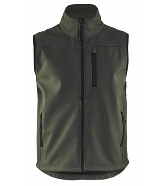 Blaklader Blåkläder 8170-2515 Softshell bodywarmer Army Groen
