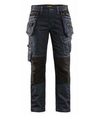 Blaklader Blåkläder 7990-1141 Dames werkbroek Marineblauw/Zwart