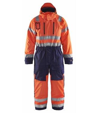Blaklader Blåkläder 6763-1977 Winteroverall High Vis Oranje/Marineblauw