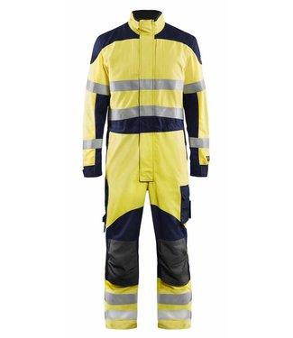 Blaklader Blåkläder 6089-1512 Multinorm Overall Inherent Geel/Marineblauw