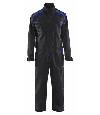 Blaklader Blåkläder 6054-1800 Overall Industrie Zwart/Korenblauw