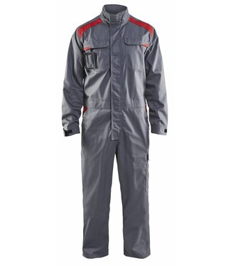 Blaklader Blåkläder 6054-1800 Overall Industrie Grijs/Rood
