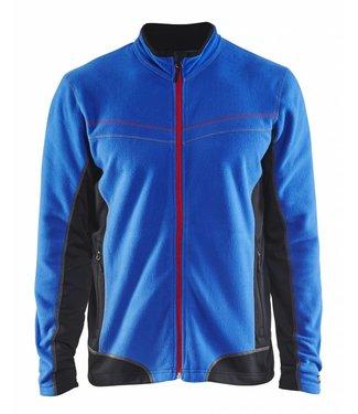 Blaklader Blåkläder 4997-1010 Microfleecevest Korenblauw/Zwart