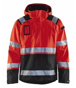 Blaklader Blaklader 4987-1987 Shelljack High Vis Fluor Rood/Zwart