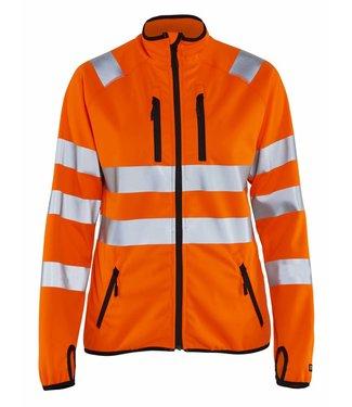 Blaklader Blåkläder 4926-2512 Dames Softshell jack High Vis Oranje