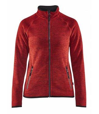 Blaklader Blåkläder 4912-2117 Dames gebreid vest Rood/Zwart