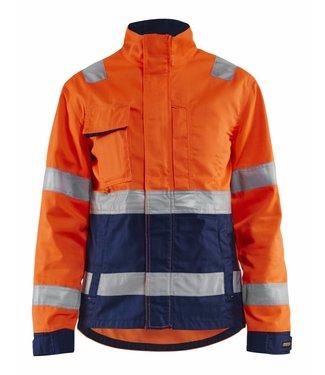 Blaklader Blåkläder 4903-1811  High vis Oranje/Marineblauw
