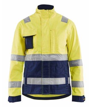 Blaklader Blåkläder 4903-1811 High vis Geel/Marineblauw