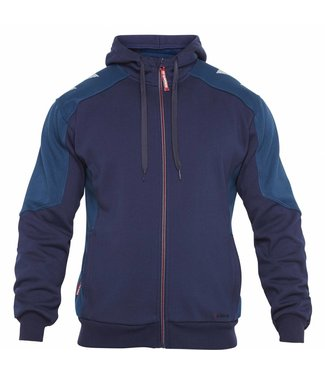 F.Engel F.Engel 8820-233 Hooded Sweater Petrol