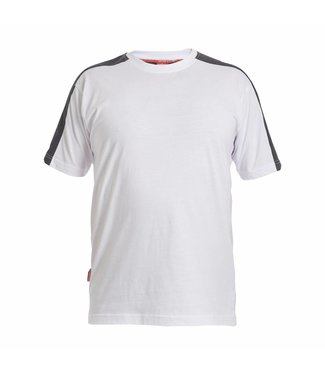 F.Engel F.Engel Galaxy T-Shirt 9810-141 Wit/Anthraciet
