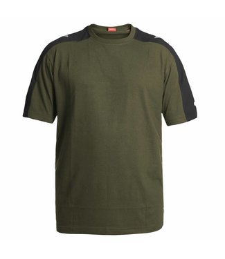 F.Engel F.Engel Galaxy T-Shirt 9810-141 Groen/Anthraciet