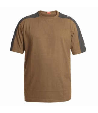 F.Engel F.Engel Galaxy T-Shirt 9810-141 Bruin/Anthraciet