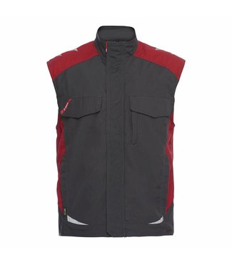 F.Engel F.Engel Galaxy service vest 5810-254 Anthraciet/Rood