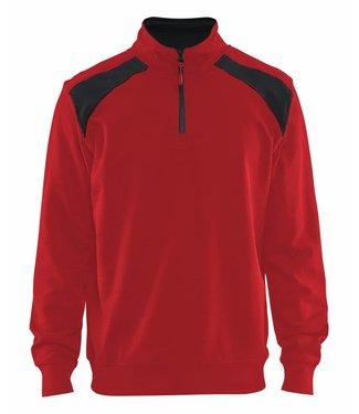 Blaklader Blaklader Sweater 3353-1158 Rood/Zwart