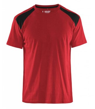 Blaklader Blaklader T-Shirt 3379-1042 Rood / Zwart