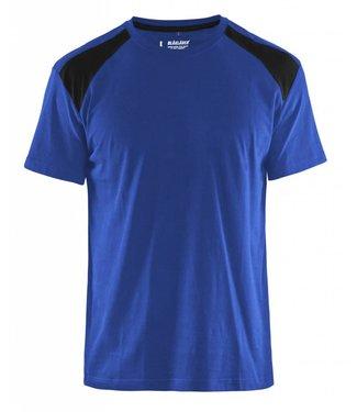 Blaklader Blaklader T-Shirt 3379-1042 Korenblauw/Zwart