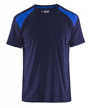 Blaklader Blaklader T-Shirt 3379-1042 Marine/Korenblauw