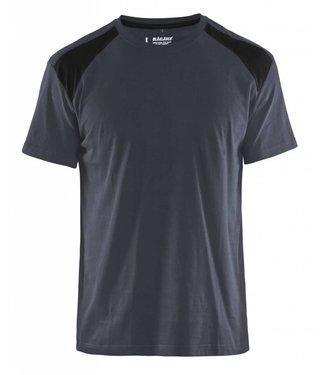 Blaklader Blaklader T-Shirt 3379-1042 Donkergrijs/Zwart