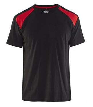 Blaklader Blaklader T-Shirt 3379-1042 Zwart/Rood