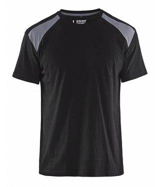 Blaklader Blaklader T-Shirt 3379-1042 Zwart/Grijs