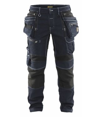 Blaklader Blaklader 1990-1141 werkbroek Denim Stretch Marine