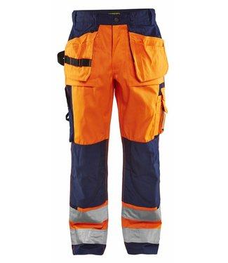Blaklader Blaklader HIGH VIS broek 1533-1860 Oranje/Marine