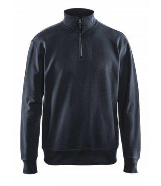 Blaklader Blaklader 3369-1158 Sweater met 1/2 Rits Donkermarineblauw