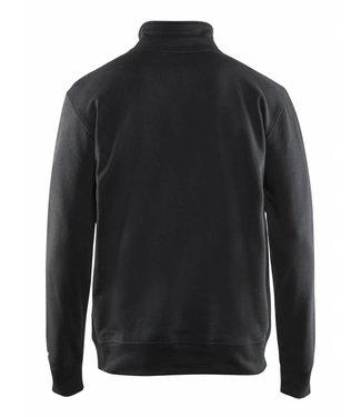 Blaklader Blaklader 3369-1158 Sweater met 1/2 Rits Zwart