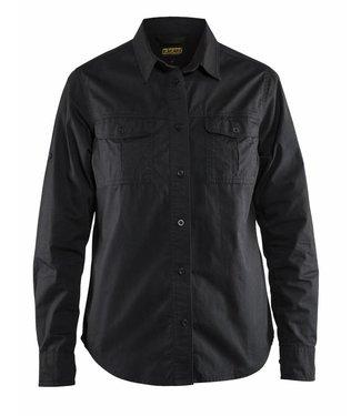 Blaklader Blaklader 3208-1135 Dames Overhemd Twill Zwart