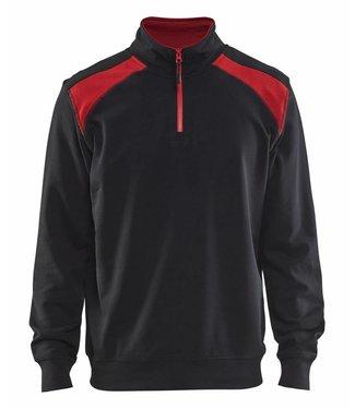 Blaklader Blaklader Sweater 3353-1158 Zwart/Rood