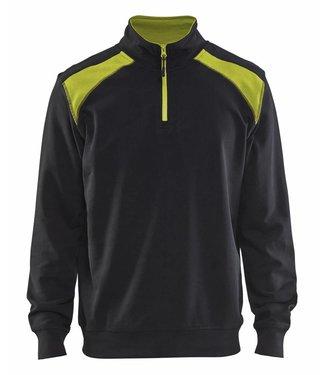 Blaklader Blaklader Sweater 3353-1158 Zwart/Geel