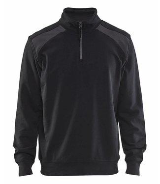 Blaklader Blaklader Sweater 3353-1158 Zwart/Donkergrijs