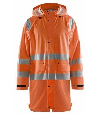 Blaklader Blåkläder 4324 Regenjas High vis LEVEL 1 Oranje