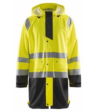 Blaklader Blåkläder 4324 Regenjas High vis LEVEL 1 Geel/Zwart