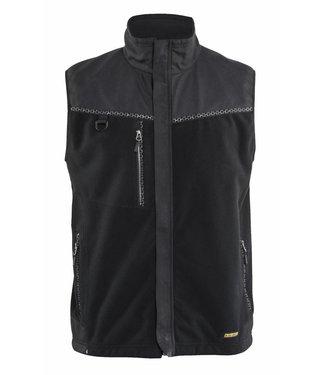 Blaklader Blåkläder 3855 Winddicht fleecevest Zwart